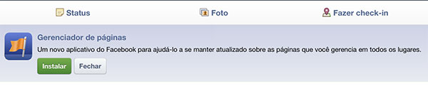 facebook page manager ipad notificacao Facebook Page Manager, aplicativo oficial para gerenciar fan pages pelo smartphone e tablet.