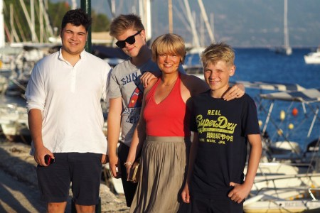 holiday in kefalonia with teenagers
