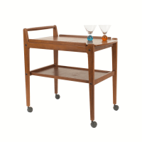 Danish Modern Bar Cart - MidMod Decor