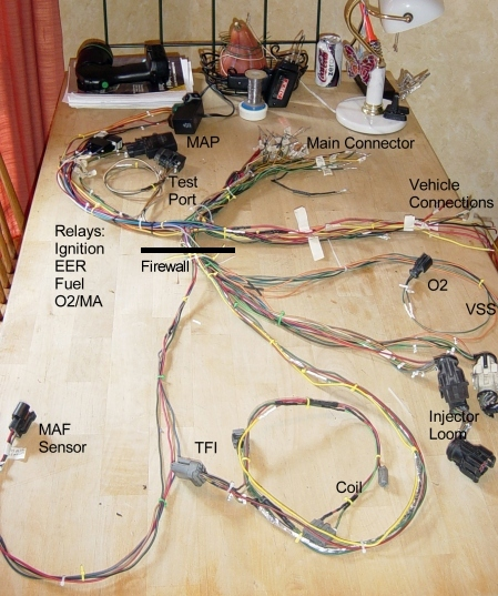 Mustang Wiring Harness - Data Wiring Diagram Update