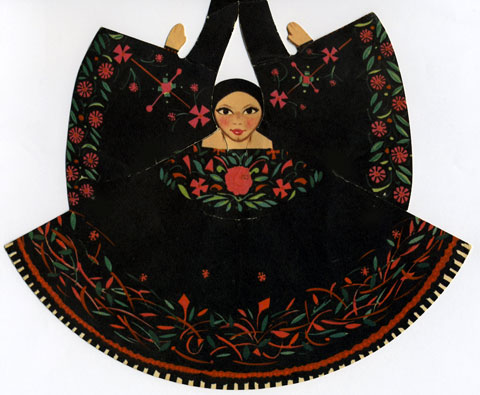 Mexican Paper Dolls Sierra De Puebla