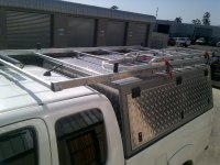 TELKOM ROOF RACK AND LADDER RACK