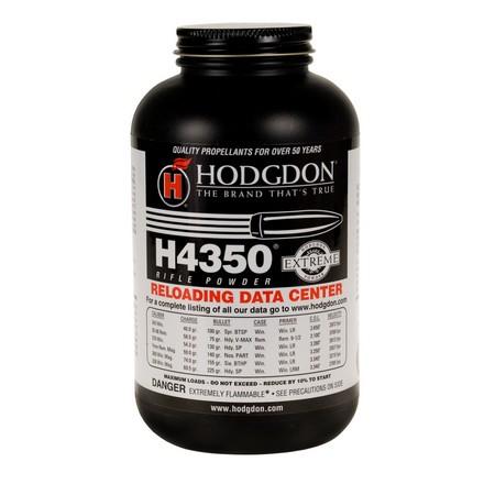 Hodgdon H4350 Smokeless Powder 1 Lb by Hodgdon