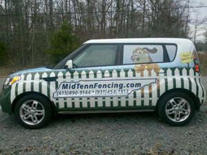 Mid Tenn Fencing Car