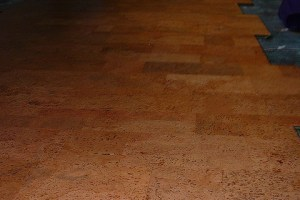 Cork Flooring Underfoot