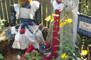Not Your Grandmother's Scarecrows
