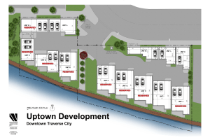 Uptown Riverfront Townhomes and Live-Above-Work units