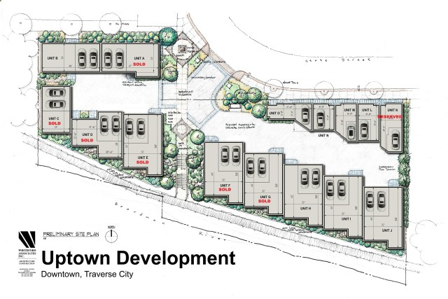 Uptown Site Plan