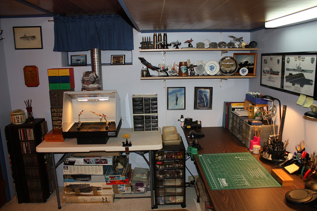 Workbench Hobby Room