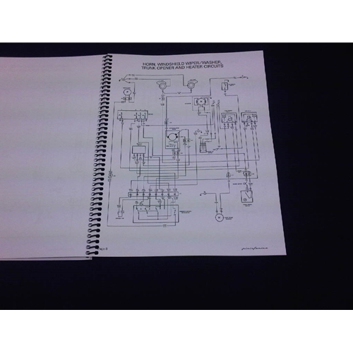 1983 Fiat 124 Electrical Schematic Wiring Diagram