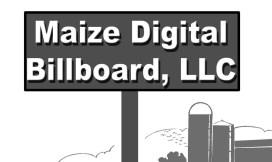 LewJene Schneider and Maize Digital Billboard