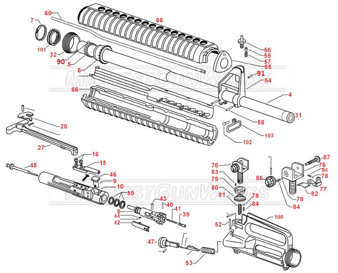 ar 15 schematic lower
