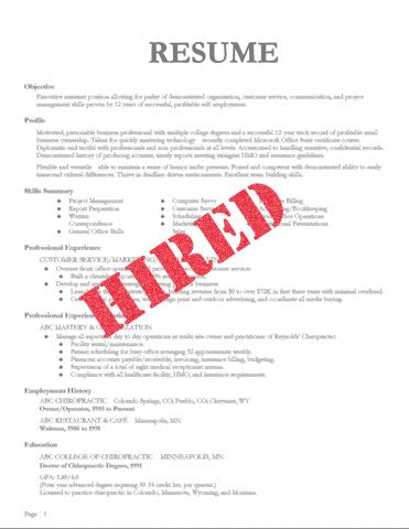 Build a Winning Resume by Midwest Institute