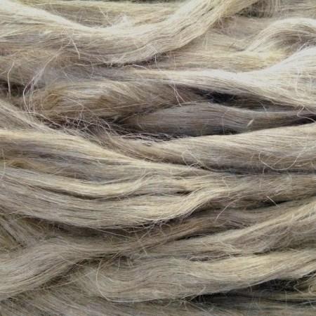 Super fine water retted flax fiber