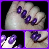 Lila naglar