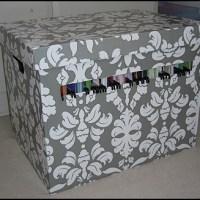 Pappersförvaring med hängmappar