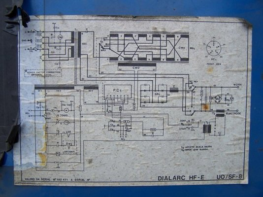 miller dialarc hf-e 2 phase or 3 phase?? MIG Welding Forum