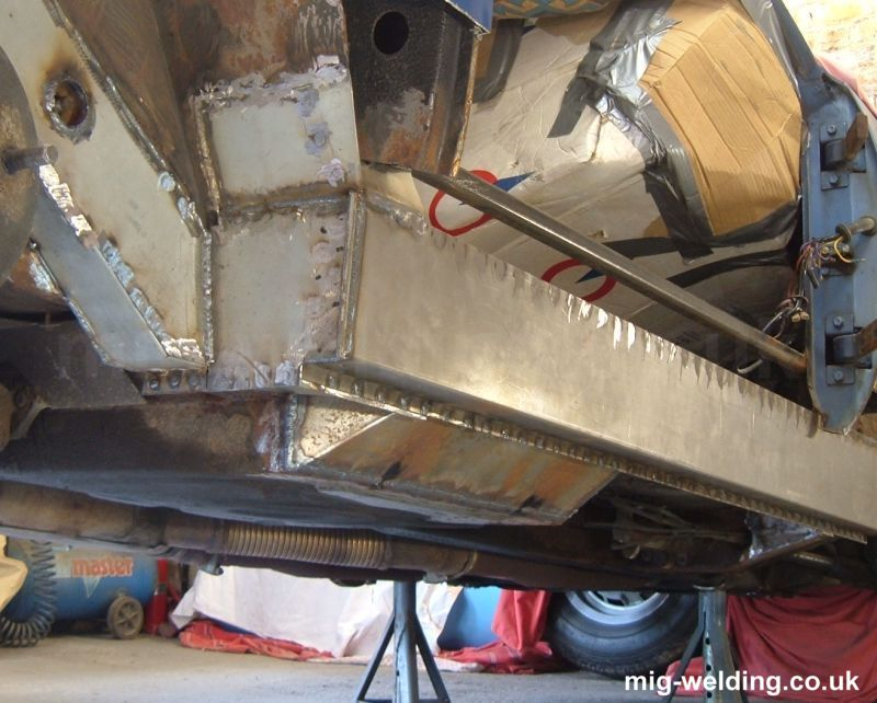 Ford Transit Chassis Repair Panels