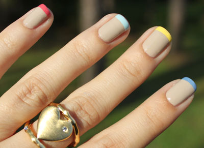 Color Me Polished How To Wear Multi Colored Manicures