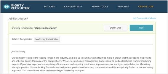Job Posting  Distribution MightyRecruiter