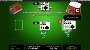 888.it mobile - blackjack losing