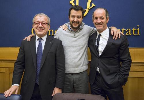 Conferenza stampa della Lega Nord sulla Legge di stabilità