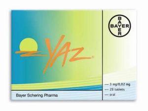 Yaz anticonceptivo hormonas medicamento reacciones adversas