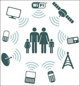 Contaminación electromagnética wifi antenas telefonía electrosensibilidad