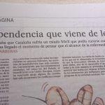 El País publicó hace dos días un editorial que usaba el marketing del miedo para explicarnos lo de la ineficacia de los antibióticos. Dos páginas después ofrecía este artículo político que cita curar un estado febril con antibióticos.