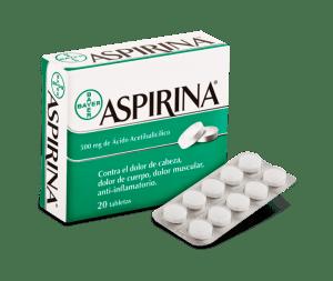 Aspirina corazón daño