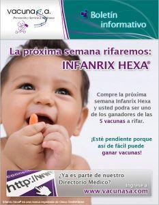 Vacuna Infanrix Hexa