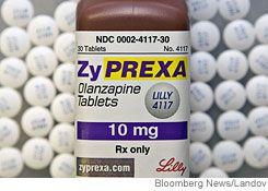 Zyprexa olanzapina lilly