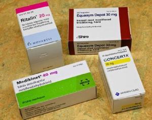 Metilfenidato Concerta Ritalin