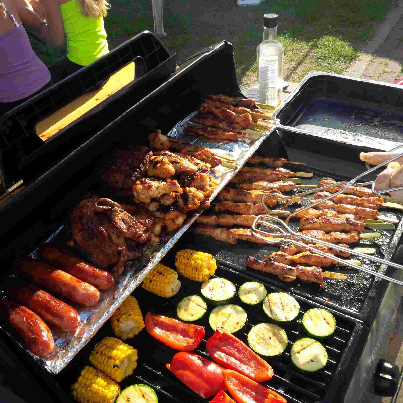 Bbq feesten op locatie mijn partyservice - Foto van sallon ...