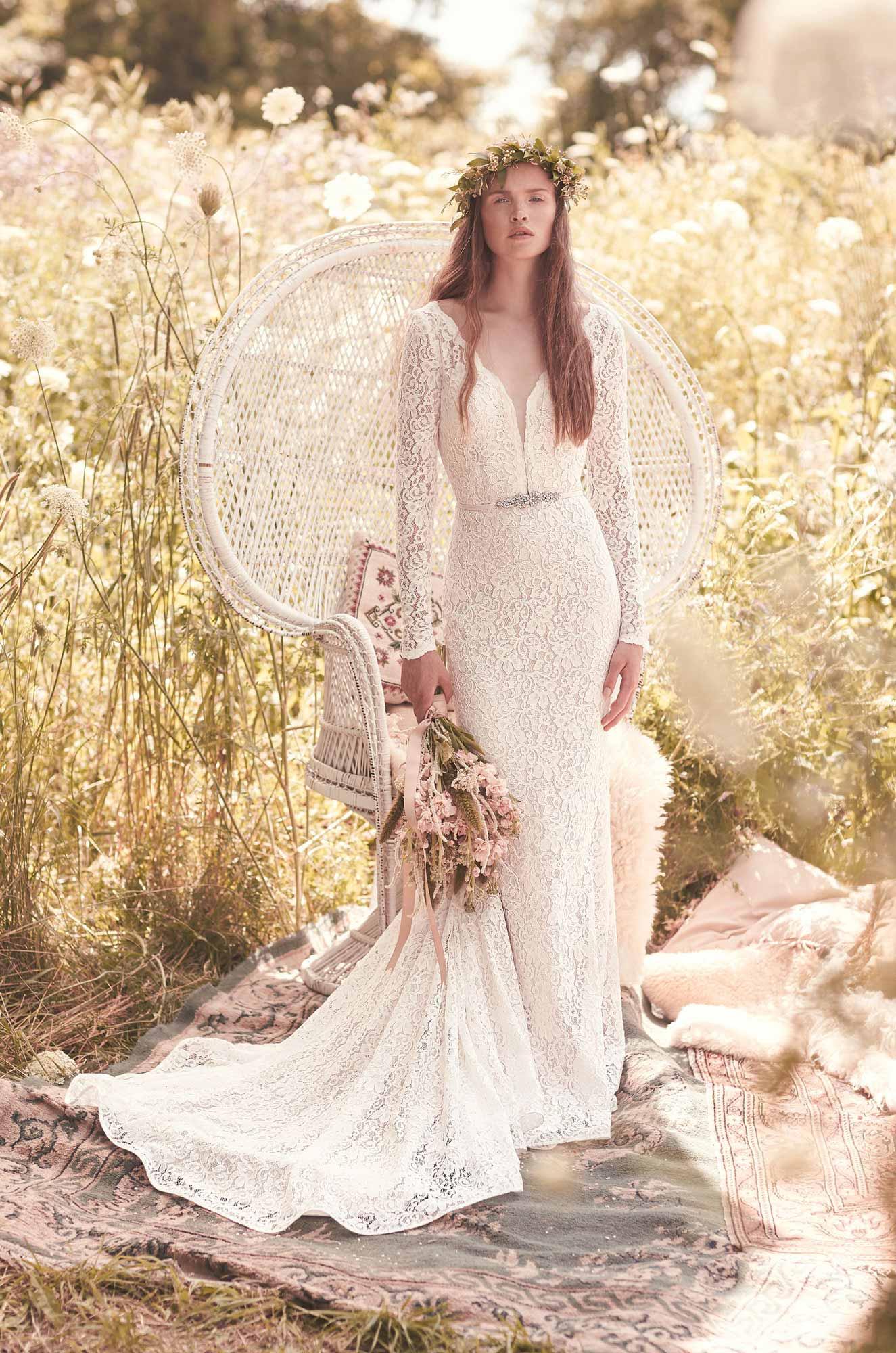 Indulging Long Sleeve Wedding Dress Style Mikaella Bridal Long Sleeve Wedding Dress Long S Long Sleeve Wedding Dress Under 300 wedding dress Long Sleeve Wedding Dress