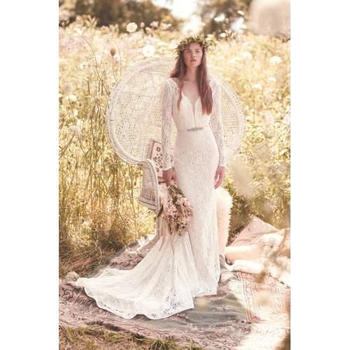 Medium Crop Of Long Sleeve Wedding Dress