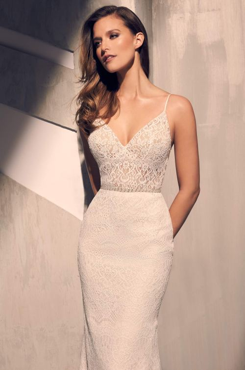 Medium Of Lace Wedding Dress