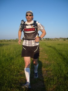 Mike running