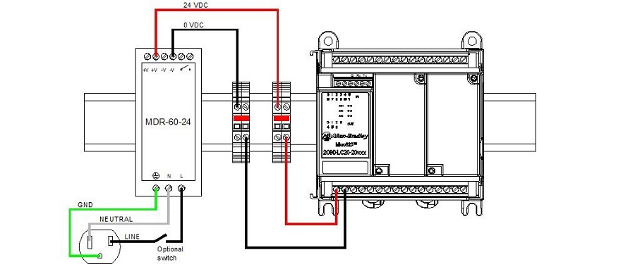 micro 820 plc wiring diagram