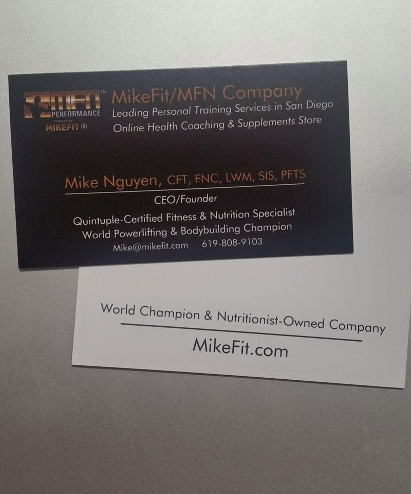 MikeFit MFN Performance w/World Champion Mike Nguyen\u2013 Mike\u0027s