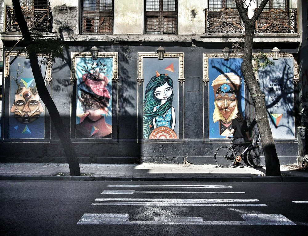 Santiago: City Life, Street Art and Truth