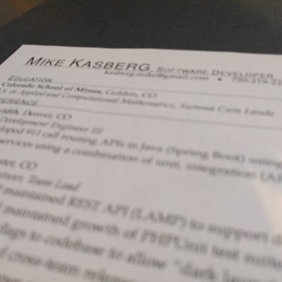 Tips for a Great Resume - tips for a great resume
