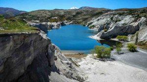 Blue Lake, St Bathans, New Zealand