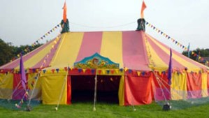 Monumental Announcement Under The Big Top