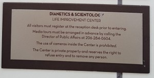 Scientology Churches: Open and Welcoming. Not