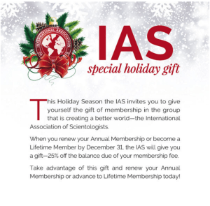 IAS – The Gift That Keeps On Taking