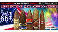 Independence Day Torpedo Special Sampler