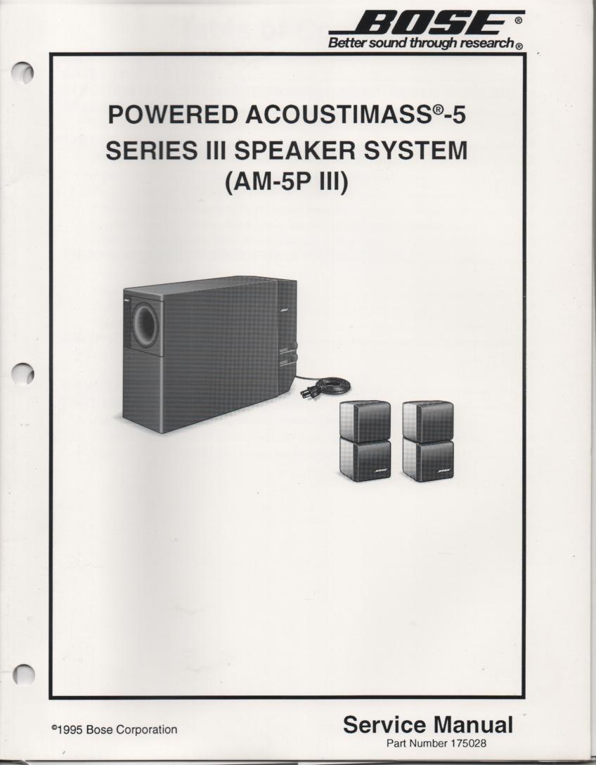 bose acoustimass 5 wiring diagram