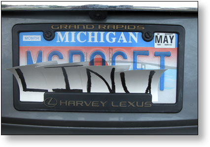 MCROSFT/Linux License Plate \u2013 Mike Swanson\u0027s Blog