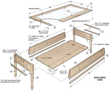 4 Free Coffee Table Woodworking Plans To Try